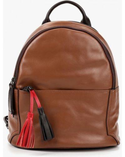 Кожаный рюкзак - коричневый Gianni Conti