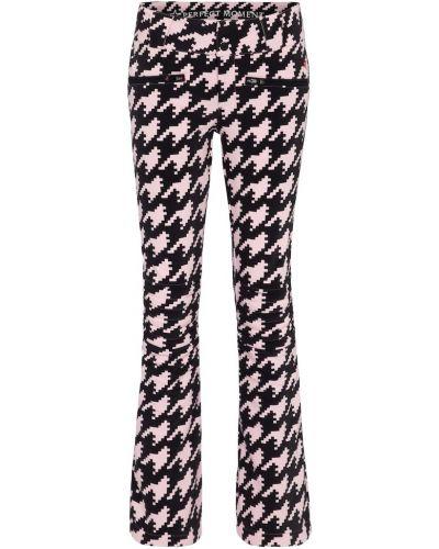 Брендовые расклешенные розовые брюки Perfect Moment