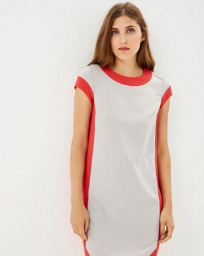 Прямое платье - серое Xarizmas