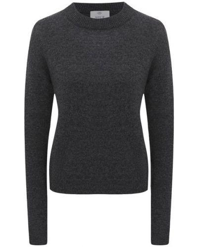 Серый шерстяной пуловер Allude