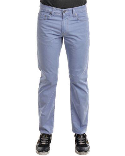 Хлопковые джинсы - голубые Mac Jeans
