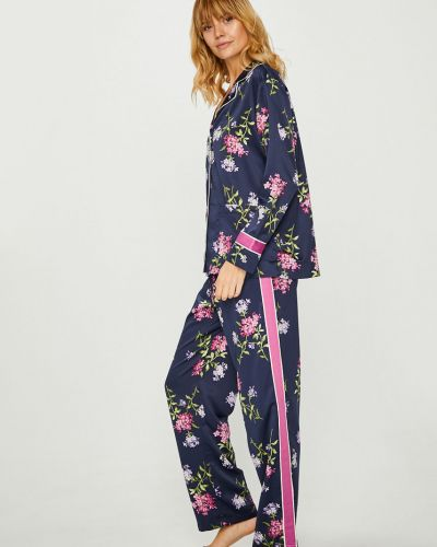 Пижама на пуговицах темно-синий Lauren Ralph Lauren