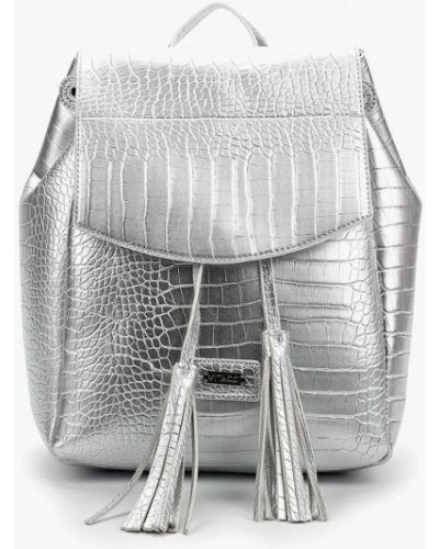 Рюкзак серебряного цвета Vitacci