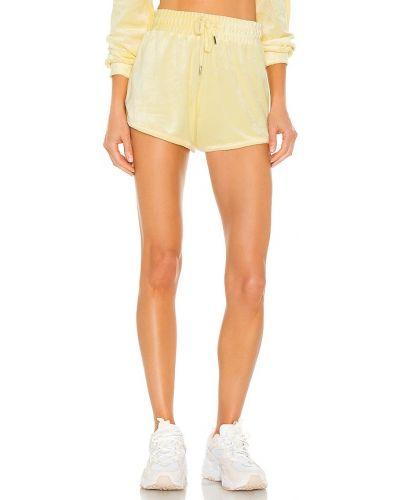 Текстильные желтые шорты на резинке Generation Love