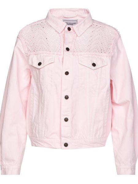 Куртка на пуговицах - розовая Forte Couture