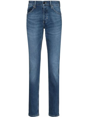 Klasyczne mom jeans - niebieskie Neuw