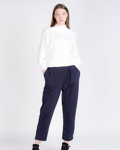 Хлопковые синие спортивные брюки Samo