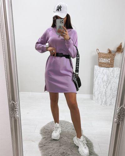 Платье макси длинное - фиолетовое Le Katrin