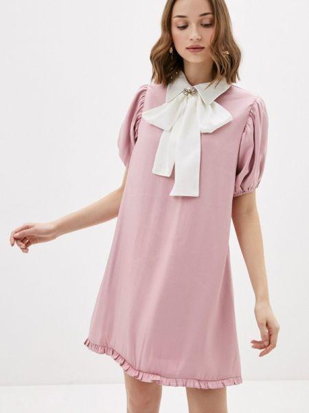 Платье розовое прямое Sister Jane
