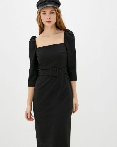 Прямое черное платье Akhmadullina Dreams