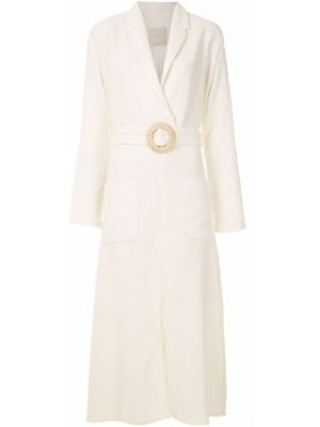 Платье миди с V-образным вырезом с карманами Framed