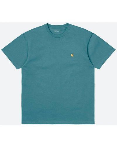 Зеленая футболка Carhartt Wip