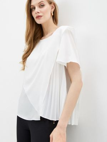 Блузка с коротким рукавом белая французский French Connection