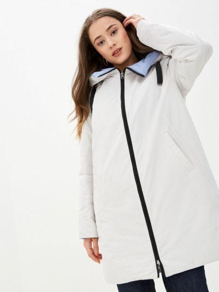 Белая облегченная утепленная куртка Dixi Coat