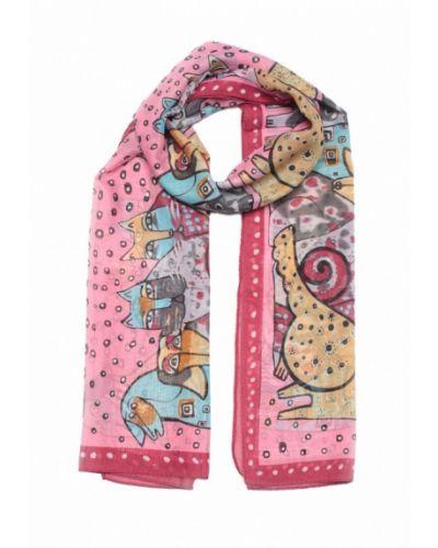 Розовый шарф Fomas