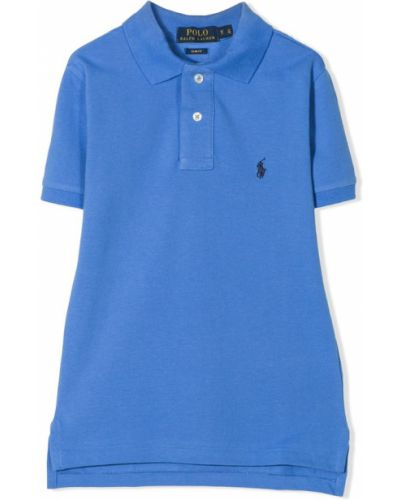 Niebieski polo Ralph Lauren