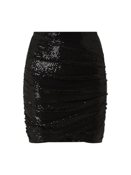 Czarna spódnica mini z cekinami Review