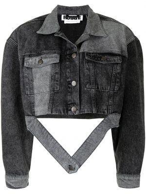 Хлопковая джинсовая куртка - серая Rotate