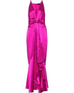 Платье шелковое фиолетовый Tom Ford