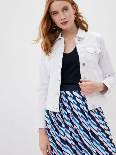 Белая джинсовая куртка Tiffosi