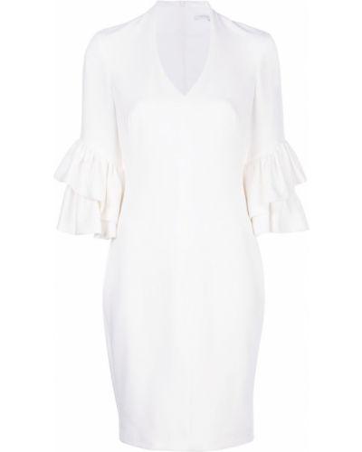 Приталенное платье миди - белое Black Halo
