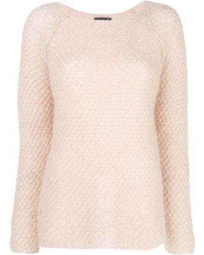 Розовый свитер из мохера Phisique Du Role