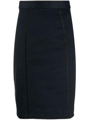 Приталенная юбка карандаш с поясом с рукавом 3/4 Dolce & Gabbana Pre-owned