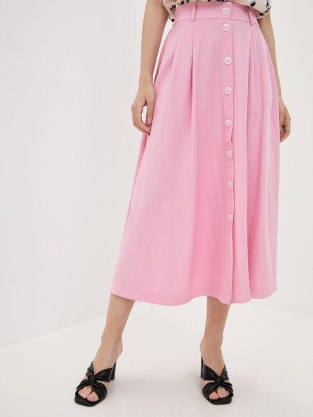 Юбка широкая розовая Zarina