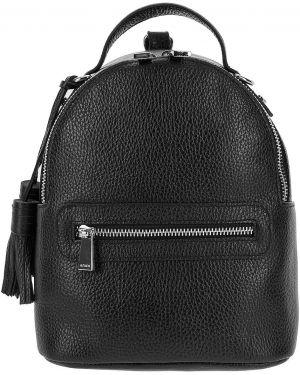 Кожаный рюкзак городской маленький Afina