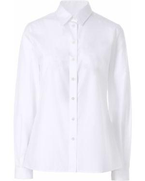 Рубашка с длинным рукавом белая на пуговицах Dolce & Gabbana