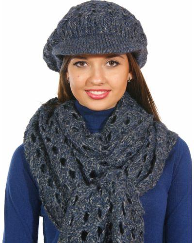 Синий шарф Patrizia Pepe