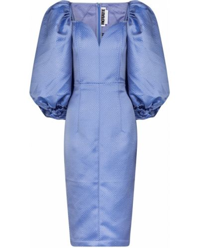 Niebieska sukienka midi Rotate Birger Christensen