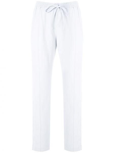 Прямые белые брюки с поясом Reinaldo Lourenço