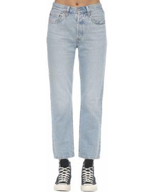 Пляжные джинсы с высокой посадкой с карманами с заплатками в стиле бохо Levi's Red Tab