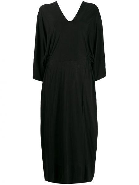 Платье с открытой спиной с V-образным вырезом Henrik Vibskov