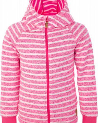 Джемпер с капюшоном розовый Reima