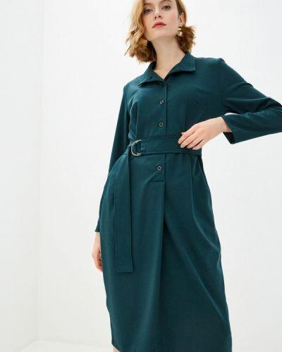 Повседневное зеленое платье Am One