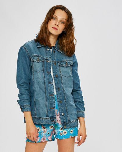 Джинсовая куртка на пуговицах облегченная Jacqueline De Yong