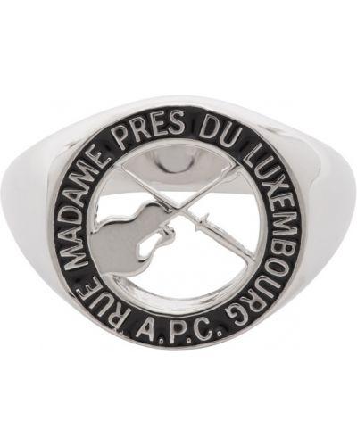 Srebro pierścień A.p.c.