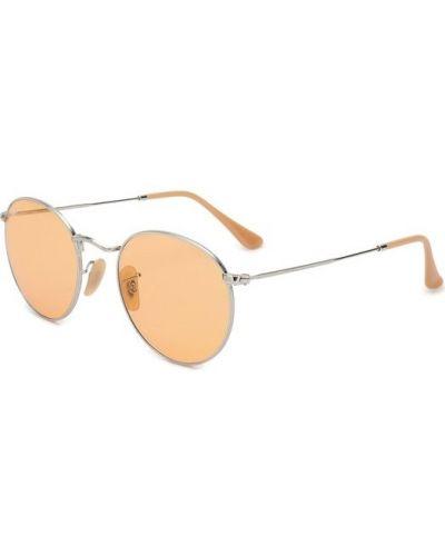 Оранжевые солнцезащитные очки Ray-ban