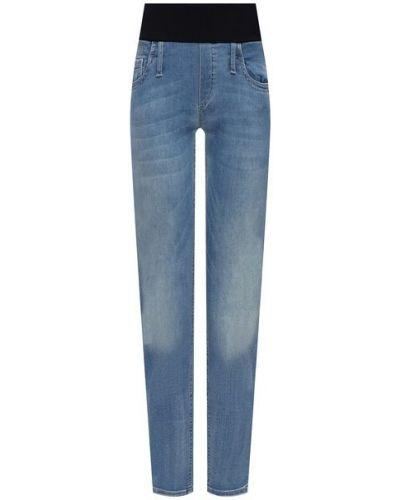 Хлопковые синие джинсы Pietro Brunelli