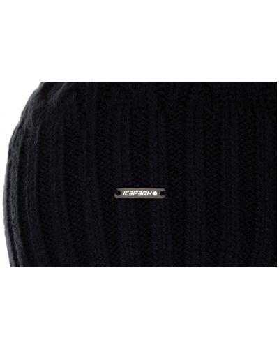 Флисовая шапка - черная Icepeak