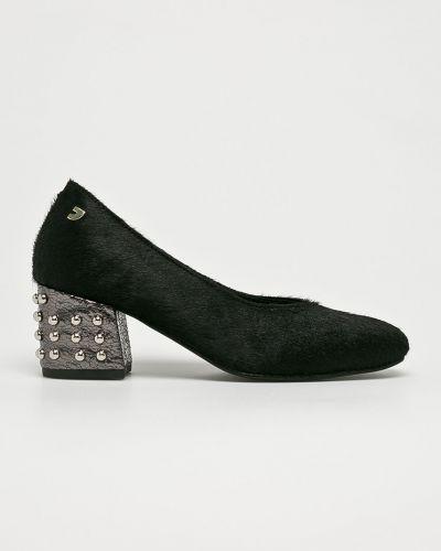 Кожаные туфли на каблуке с шипами Gioseppo