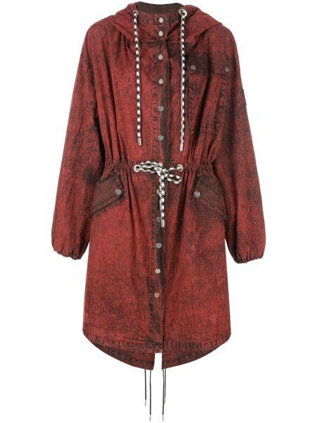 Красная длинное пальто Proenza Schouler