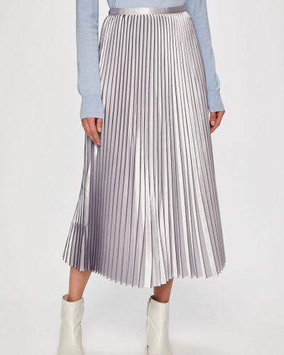 Плиссированная юбка джинсовая макси Guess Jeans