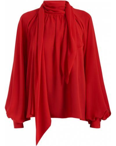 Блузка с пышными рукавами с завязками Sorelle