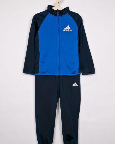 Спортивный костюм прямой с карманами Adidas Performance
