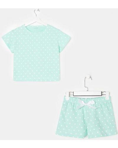 Пижамная хлопковая домашняя пижама с шортами Kaftan