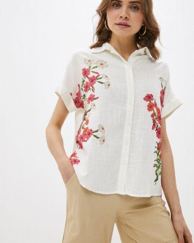 Блузка - белая Desigual