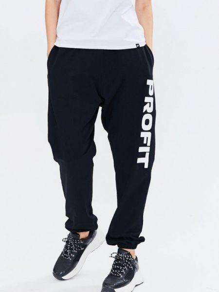 Спортивные черные спортивные брюки Profit